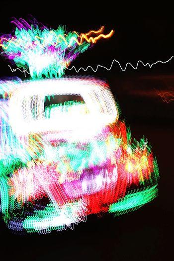 Long Exposure Motion Speed Light Trail Night EyeEmSelect Multi Colored Illuminated Blurred Motion Communication Technology Exploding Data Internet Swirl No People Science Crash Black Background Sky Outdoors