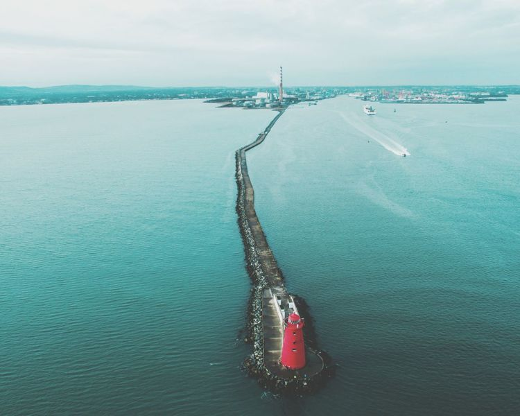 High Angle View Outdoors Sea No People Sky Dronephotography Drone Panorama Droneoftheday Lifestyles Cityscape Dronelife Droneporn Photograph Dronepic Landscape Enjoying Life Lost In The Landscape Dronestagram Sea Life Droneshot Travel Rock - Object Drone Dji Horizon Over Water Ligthhouse
