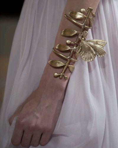 Butterfly Cuff/Giambattista Valli Haute Couture Autum/Winter Accessories Jewelry Fashion Hand Made Jewelry