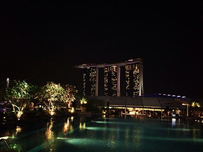 Night Lights Citylights Cityscapes Rooftop Thelantern Poolside Cityscape Rooftop View