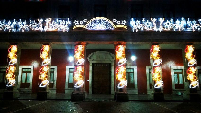 """""""Palacio Municipal en Diciembre"""" Aguascalientes Mexico Diciembre Navidad"""