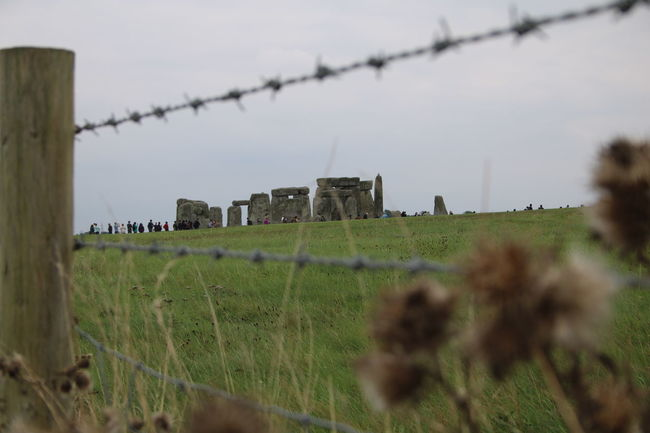 Architecture Countryside England, UK Field Grass Grassy Landscape Old Ruin Outdoors Selective Focus Solitude Stonehenge Stonehenge And Sky Stonestructures Tourist Destination Wooden Post