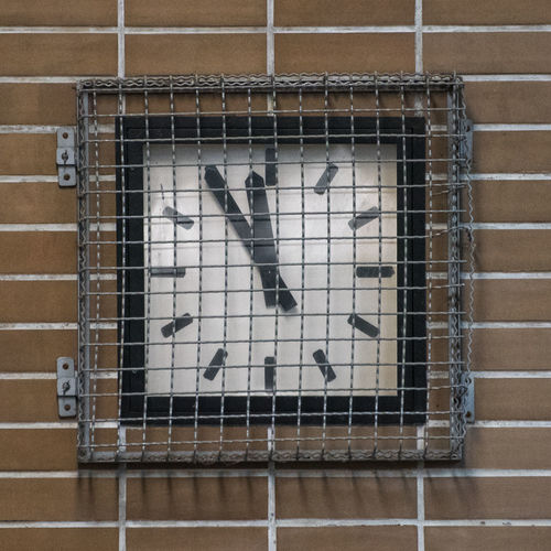 5 To 12 Brown Close-up Day Five To Twelve Flag Flagstone Grid High Noon Indoors  Metal Metalwork No People Noon Prison Trapped White
