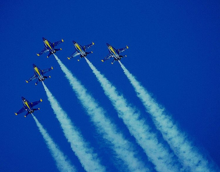 Blue Angels & Blue Skies Blue Angels 2016 National Cherry Fest US Navy Blue Angels Blue Angels High Performance Eye Em Best Shots Eye Em Best Edits EyeEm Best Shots EyeEm Gallery EyeEm Best Edits EyeEmBestPics
