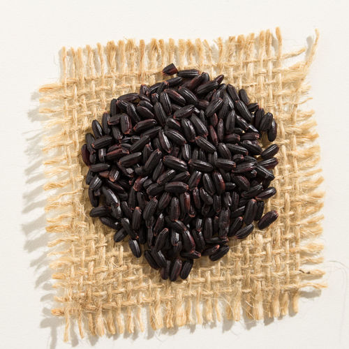Abundance Black Rice Close-up Day Directly Above Food Food And Drink Freshness Healthy Eating High Angle View Indoors  Ingredient Large Group Of Objects No People Raw Food Seed Still Life Studio Shot White Background