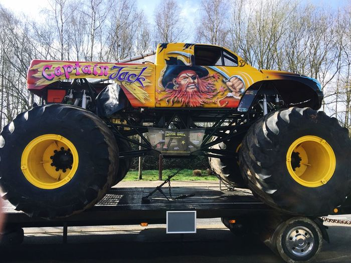 Car Voiture Custom Cars Monster Trucks