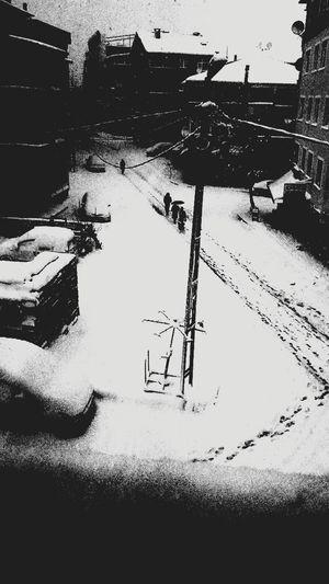 Sultanbeyli de kar