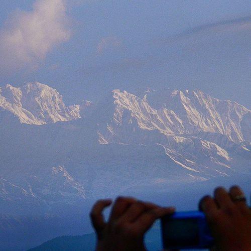 Annapurna peak, Pokhara, Nepal