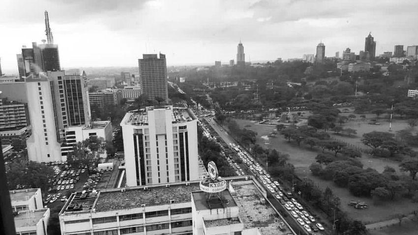 City Nairobi NairobiKenya Urban Skyline Cityscape High Angle View Architecture Aerial View Sky Built Structure Architecture NairobiCity City Building Exterior Scenics Horizon