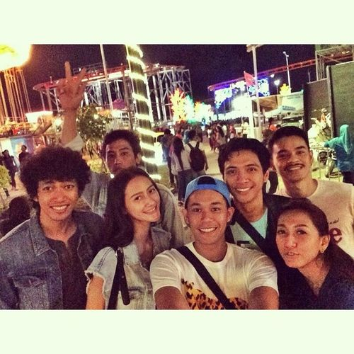 Thanks n see you guys... Selfietogether Playmates Surabayacarnivalnightmarket Eastjavatourism