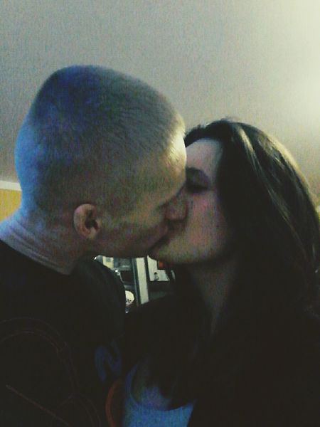 You & I Kiss Cmok Couple Paar Love Hello World