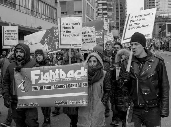 Anticapitalism Women, - Toronto International women march Activism Anticapitalism Blackandwhite International Women's Day March8th Outdoors Politics Revolution Revolutionary Toronto Women