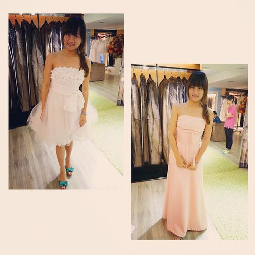高雄, Kaohsiung, 巴黎春天 , Dress, Bridesmaid,White,Pink,Beauty,Girl, Which Guess which one I like?