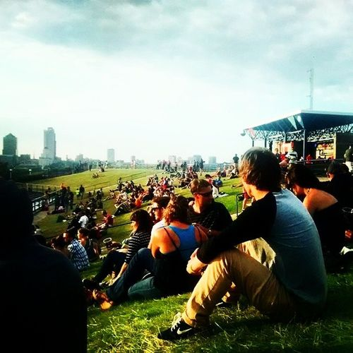 Some chill lawn seats Falloutboy  Paramore Newpolitics Summerfest