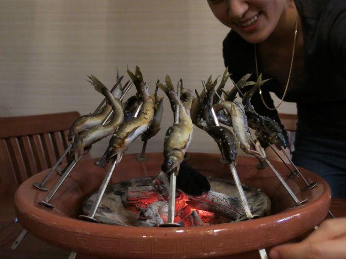 あゆ 鮎 Sweetfish Freshness Food Charcoal-grilled Ready-to-eat Japanese Food