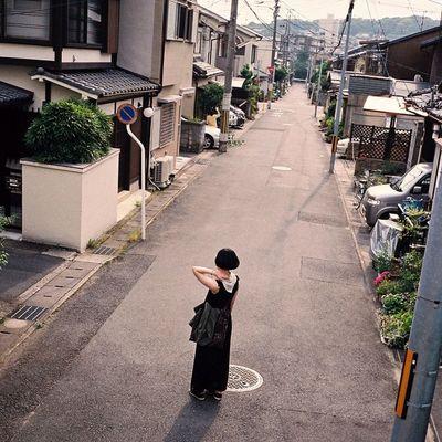City Japan Oasaka T3 Travel Trip VSCO Vscocam Vscofilm Road People Cymera Cymeraapp Contax Contaxt3 Film Filmstagram 35mm