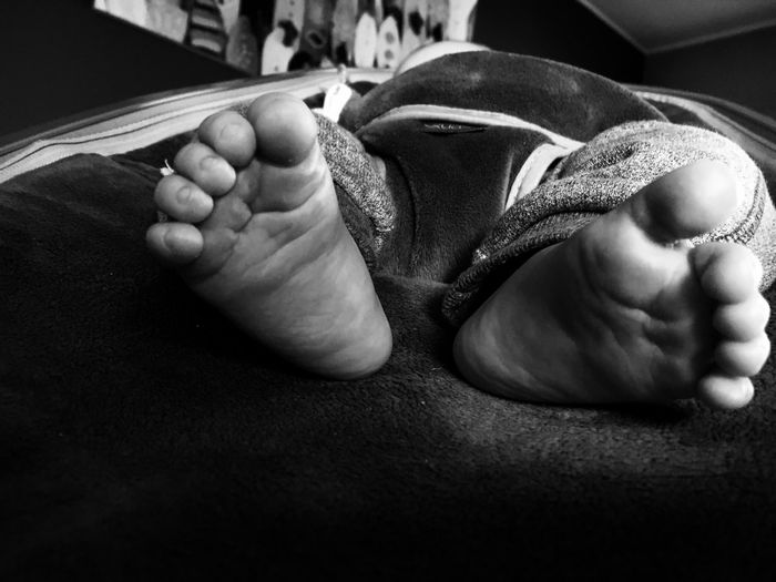 2016 March My Boy Baby Bilal Beautiful Feet Blackandwhite