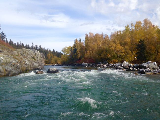Great White North Canada Gorgeous Rapids Hello World Check This Out
