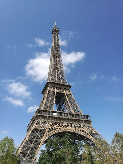 Eiffel Tower City Tree History Horizon Cultures Tower Metal Sky Architecture Built Structure Architectural Feature Monument National Monument Tall - High Urban Skyline