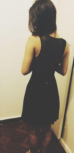 Black Dress Girl Me