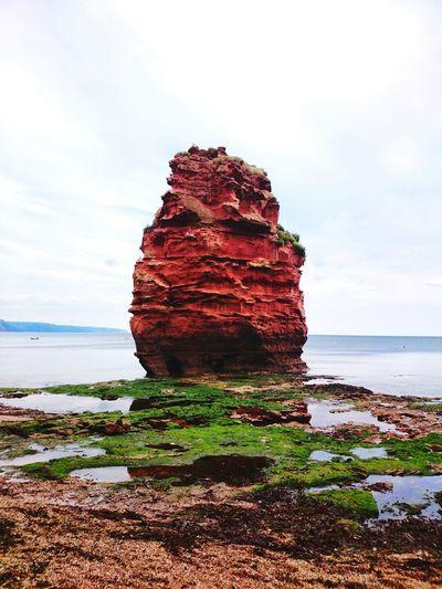 Seaside rock formation Sea And Sky Seascape Sea Seaside Rock Formation Rock