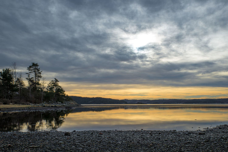 Evening light at Ulvön, Ljungskile Cloud - Sky Coastline Evening Light Fine Art Photography Landscape Landscape_Collection Landscape_photography Light And Shadow Nature No People Rocks And Water Sea Sky Stone Stone Beach Sunset Tranquility Water