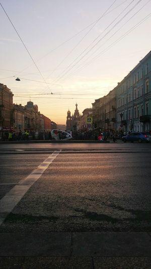 Встретили рассвет в центре Петербурга летние деньки день 2