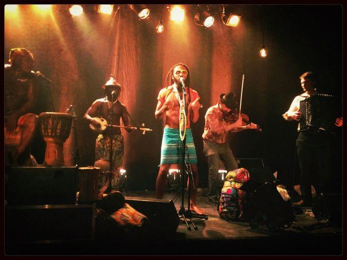 Wanlov and his afrogipsy band!