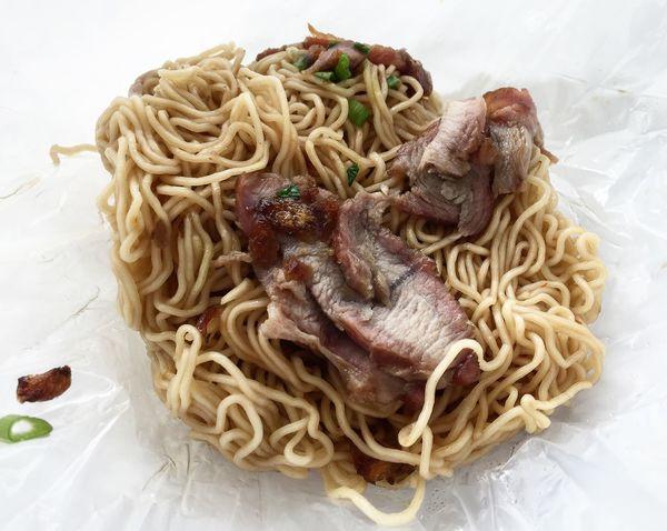 Take away food for breakfast Asian Food Char Siew Food Kolo Mee Littlefoodtrail Noodles Roast Pork Take Away