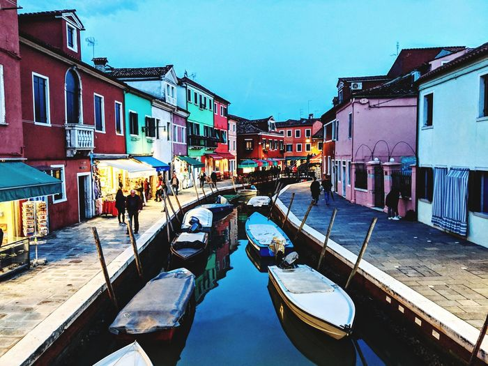 Burano in the
