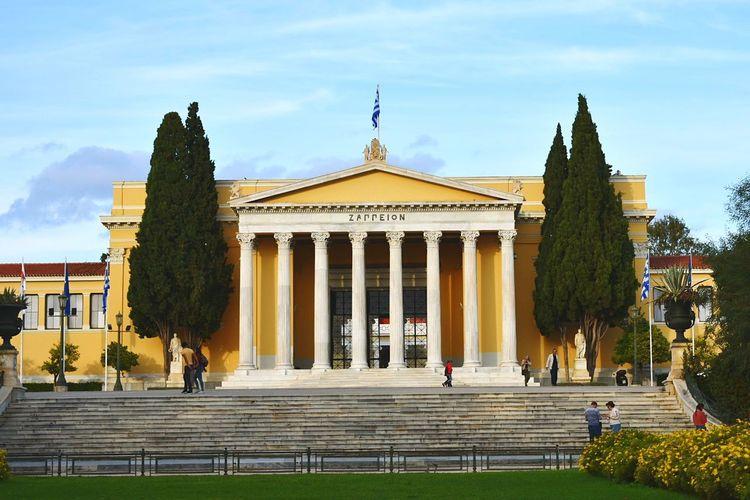 Megaron Zappeion Greece Photos Greece Landscapes GREECE ♥♥ Athens City Athensvibe Athens Street Photography Athens View Athens 2018 City History