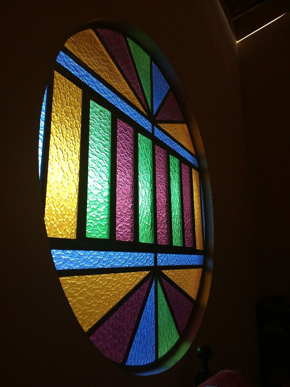 multi colored, indoors, window, illuminated, no people, architecture, close-up, day