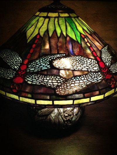 Lamp finally for Linda : Stained Glass Lighting Interior Design