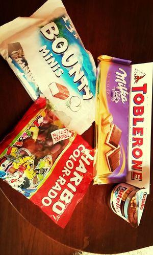 Sweet Haribo Bounty Toblerone ... ^^ <333