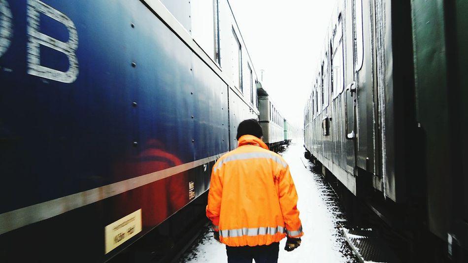 Train Worker Rail Workplace Working Man Train Trainphotography Train Fine Art Photography
