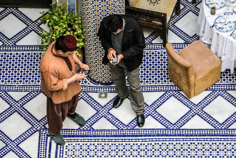 Call Calling Close Up Technology Handy Marokko Mobile Conversations Morocco People Phone Pupparazzi Smartphone Street Photography Streetphotography Technology Technology Everywhere Telefon Travel Travel Photography Travellover Kacheln Mosaik Tile Riad EyeEm Diversity Connected By Travel An Eye For Travel