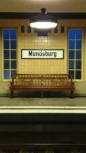 Mundsburg Subway Station Ubahn Hamburg Subway