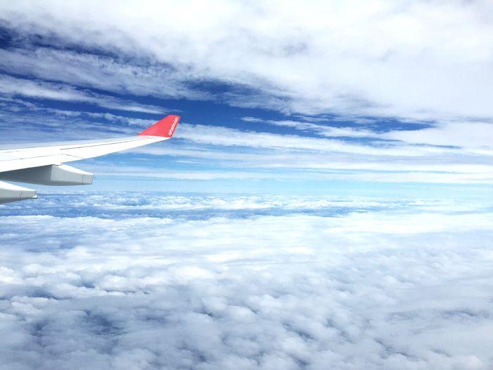 Über den Wolken nach New York Juni 2015