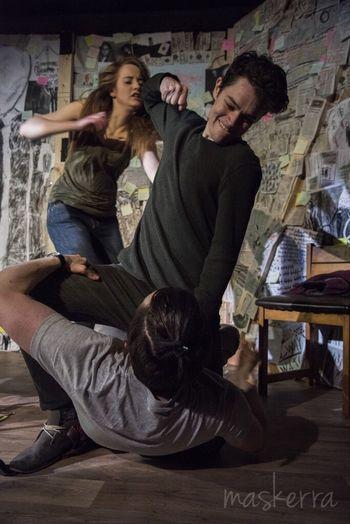 Slender Young Artist Theater Art Independent  Show The Human Condition Dublin EyeEm Best Shots Violence SlenderMan