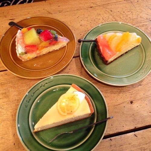 何度食べても美味しいです♪ Relaxing Meeting Friends Enjoying Life Good Times Japan Love Cake Dessert Yummy