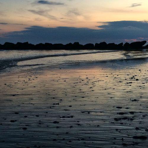 Sunset At Long Beach, NY Nikonphotographers #beachlovers #checkout My Gallery On Instagram#waycoolshots#awesomesunsetshots Visualmagic EyeEm Best Shots