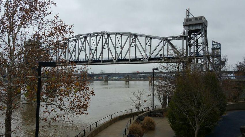 Taking Photos Check This Out Arkansas Bridge Arkansas River Arkansas Landscape