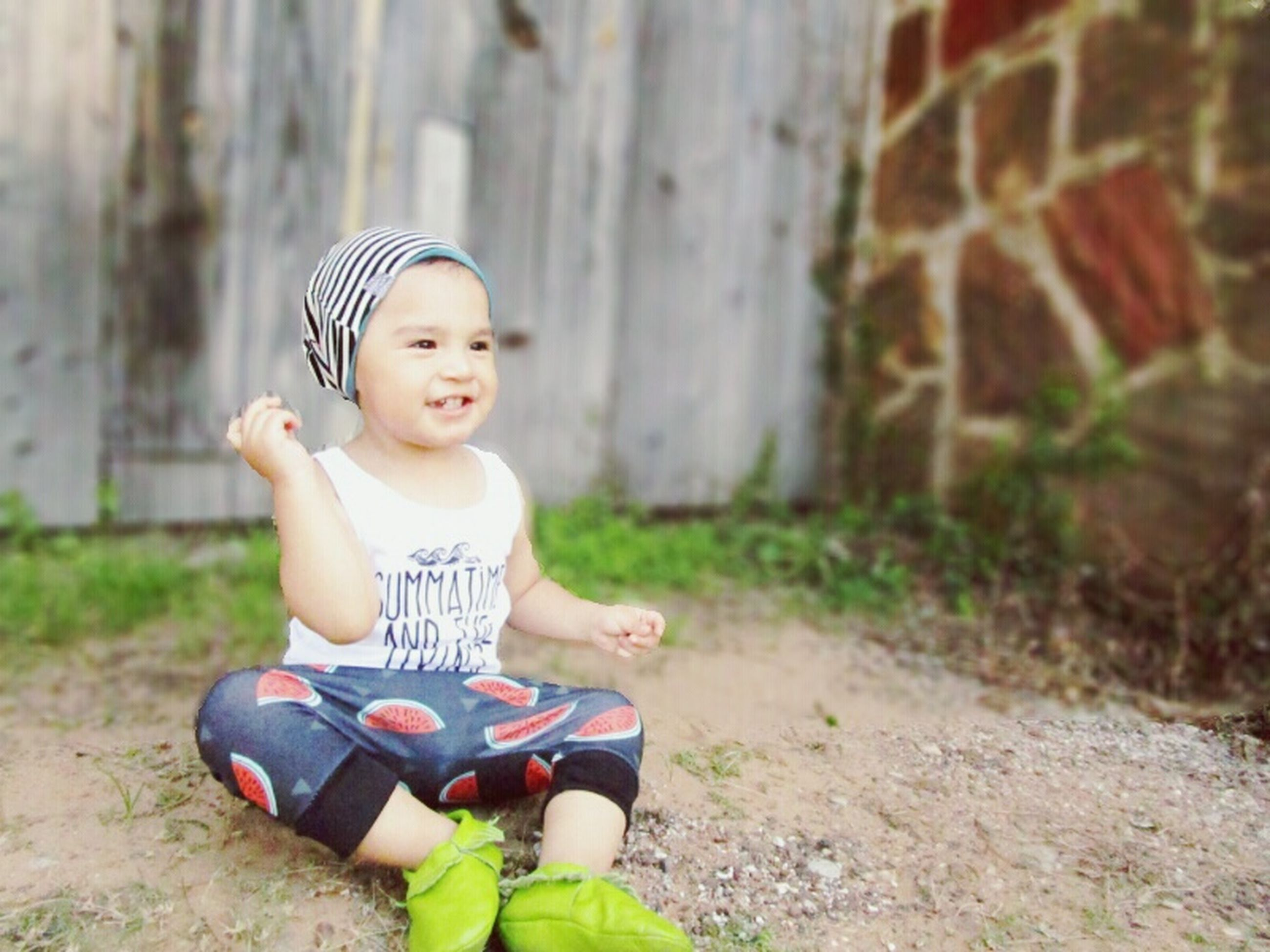 childhood, elementary age, person, boys, cute, innocence, girls, lifestyles, leisure activity, casual clothing, playing, full length, playful, happiness, preschool age, smiling, toy, looking at camera