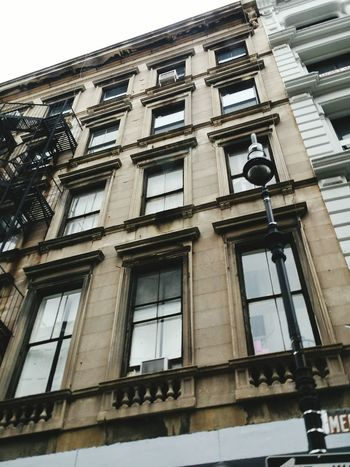 Building NYC Photography Windows Lampost Stories From The City