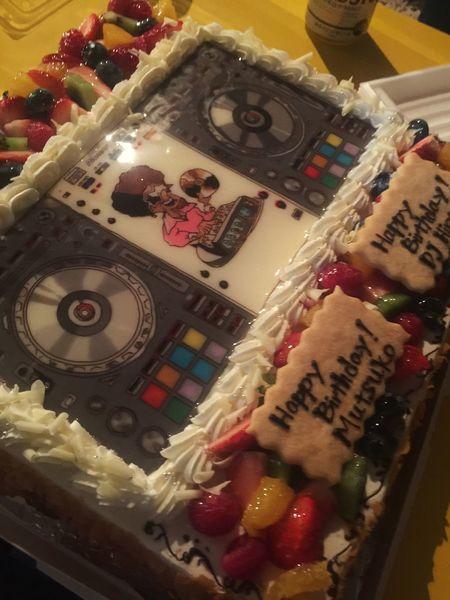オリジナルDJ機材仕様ケーキ Birhday Birthday Cake Cakes Dj Set Disco House