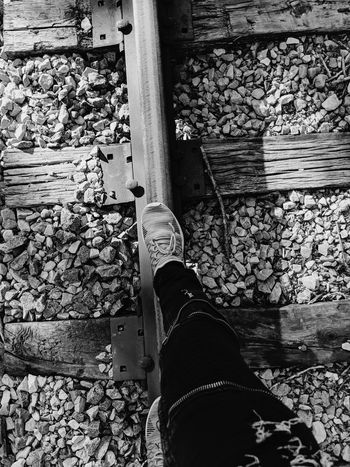 Sunset Sun Wood - Material Chain Metal Blackandwhite Backgrounds Train Tracks Sunlight Train Glare Low Section Puddle Water Human Leg Standing Shoe High Angle View Close-up Wooden Full Frame Textured  Detail The Troublemakers The Photojournalist - 2018 EyeEm Awards