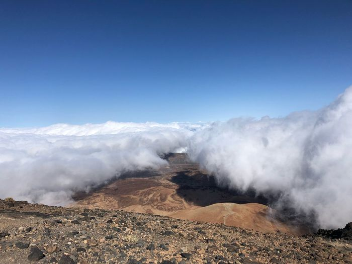 On Volcano Teide, Tenerife Nofilter Tenerife Teide National Park SPAIN Volcano Teide Sky Scenics - Nature Beauty In Nature Nature Environment Landscape Land Blue Outdoors Tranquil Scene Sunlight Clear Sky Idyllic Power In Nature Tranquility