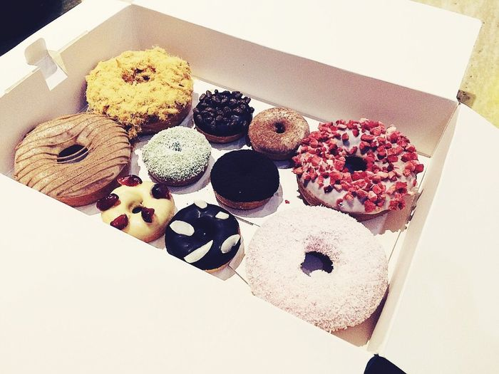 How lovely you are!?? Donuts Sweet Yummy Happyday