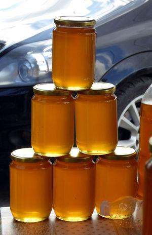 honey from albania Glass ALBANIA❤️ Close-up Day Food Honey Indoors  Jar No People Organic