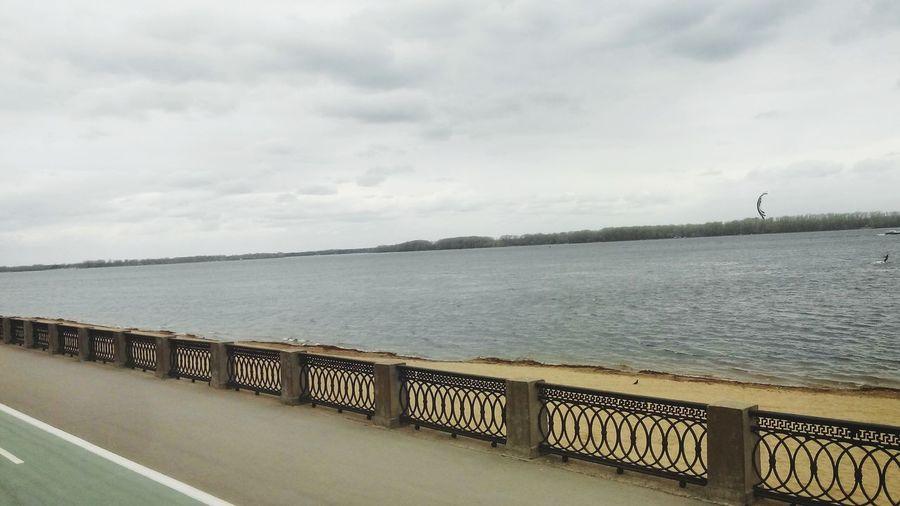 набережная Волга в Самара Россия